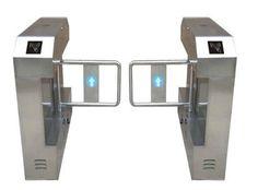 Fingerprint access control swing turnstile gate/RFID automatic swing turnstile (SST-KB220) - China swing turnstile gate, SST