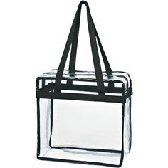 Close to meeting stadium requirements love zippered pockets this clear game day bagtoteey can personalize it or do it solutioingenieria Gallery
