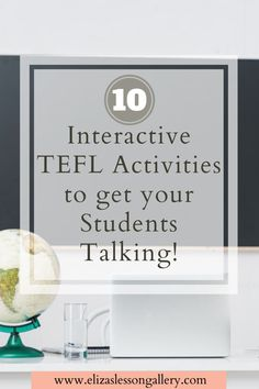 Stuck for ideas in your TEFL class? Some great ESL conversation activities that you can use in your classroom that are easy and effective! Esl Lesson Plans, Esl Resources, Travel Jobs, Esl Lessons, English Language Learners, How To Get, How To Plan, Teaching Materials, Ielts