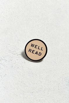 Word For Word Well Read Pin