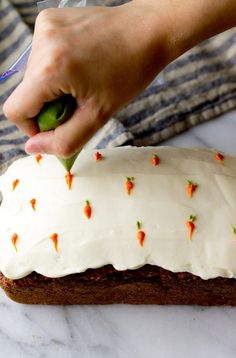 Carrot Cake Loaf – The Gourmet Gourmand - easter ideas Baking Recipes, Cake Recipes, Dessert Recipes, Carrot Cake Loaf, Loaf Cake, Cupcake Cakes, Cupcakes, Slow Cooker Desserts, Just Desserts