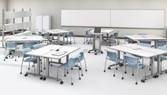 ABCO classroom training tables with laminate finish