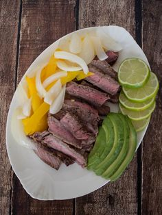 Redd's Marinated Steak Fajitas