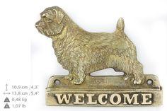 Norfolk Terrier dog welcome hanging decoration by ArtDogshopcenter