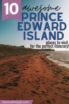 10 Fun Things To Do in Beautiful Prince Edward Island - Prince Edward Island, the perfect vacation destination for photography. Visit Avonlea, Green Gables and the Green Gables House. The best places to visit in Prince Edward Island. You'll find the best beaches. All the things to do in Cavendish, Charlottetown. A wonderful food and landscape destination. #princeedwardisland #peicanada #pei #atlanticcanada World Travel Guide, Travel Guides, Travel Tips, Canada Destinations, Canadian Travel, Visit Canada, Beautiful Places To Travel, Prince Edward Island, Worldwide Travel