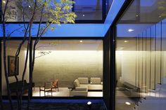 La casa-patio, un proyecto de Apollo Architects