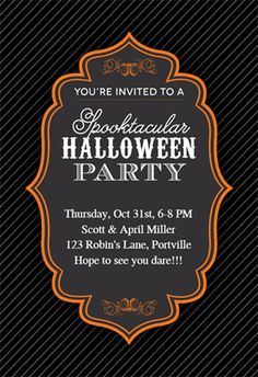 print for free spooktacular halloween party printable invitation template