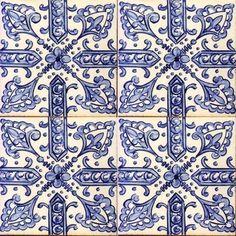 1 Tile Patterns, Textures Patterns, Print Patterns, Tile Art, Mosaic Tiles, Tile Painting, Tile Murals, Delft, Art Tribal