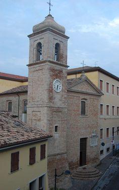 Chiesa di Sant'Apollinare,via Pascoli (antica via Flaminia)Centro Storico di Cattolica,