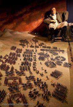 grevin museum in Paris | Napoleon before the Battle of Borodino.