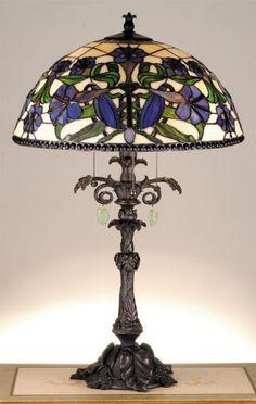 Meyda Tiffany Stained glass Lamp