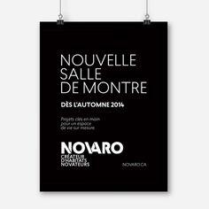 Novaro / Affiche promotionnelle / Beez Créativité Média