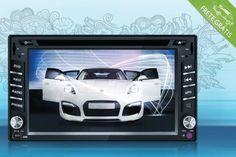 Kit central multimídia automotiva, por apenas R$1299,90