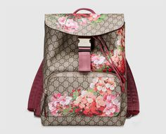 b89bcee3c61 Shop the GG Blooms backpack by Gucci. A special edition Blooms print on our  GG Supreme canvas.