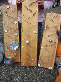 Amazing DIY marble run shared on FB by An Everyday Story