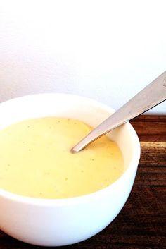 Pear & Vanilla custard - thermomix.