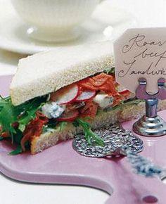 Rezept: Sandwich mit Roastbeef und Radieschen