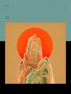 Particle (Gao Yang) on Behance Chinese Painting, Chinese Art, Graphic Design Posters, Aesthetic Art, Asian Art, Japanese Art, Art Direction, New Art, Art Inspo