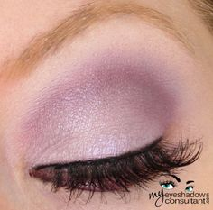 What I'm doing for my RC makeup. MAC beautiful iris and various UD purples.