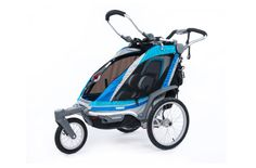 Thule Chariot Chinook. If money is no object, this is your jog stroller and more. Knowing vastly less than I know now, I bought a BOB Revolution, and while we love it for many reasons, I don't personally love it for running. The center of gravity on the (lighter) Chariot suits me much better.