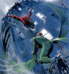 #Spiderman vs Vulture