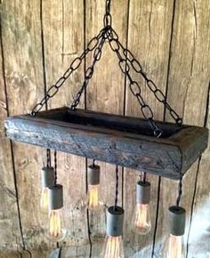 Edison Bulb Chandelier Mason Jar Lighting Mason by ChicagoLights, $309.00