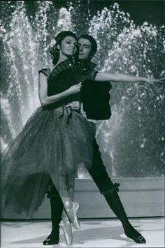 Vintage photo of Michele Mercier dancing with man. | eBay
