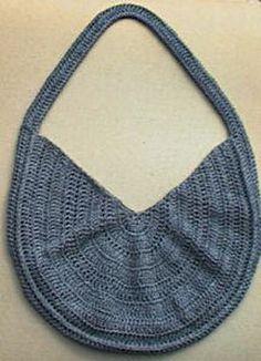 Crocheted Summer Sling Purse Pattern