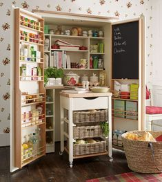 Omg, I want this pantry!!!  Laura Ashley AW15 #interiors #Ambleside