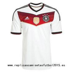 camiseta de Alemania primera 4 estrellas Ganadores 2015-2016