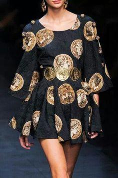 Vestido monedas