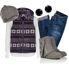 """Fair Isle Fleece"" by qtpiekelso on Polyvore"