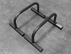 Rogue Parallettes. These can support any weight and won't shift under pressure