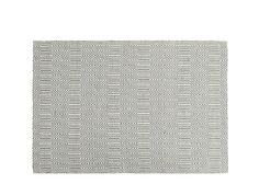 Ryker Rug 160 x 230cm, Grey and White