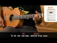 Behind Blue Eyes - Limp Bizkit (aula de violão completa)
