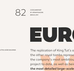 Canaro Typeface | René Bieder