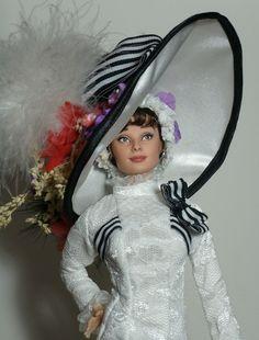 My Fair Lady doll repaint