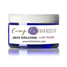 This personal lubricant is a special one! If youresearch the ingredients in store bought brands you'll realize it's time to stop putting unregulated chemicals where the sun doesn't shine. This beautiful blue glass jar of silky, nutrient packed salve just might rock your world on several levels! The need for a little help is universal, …