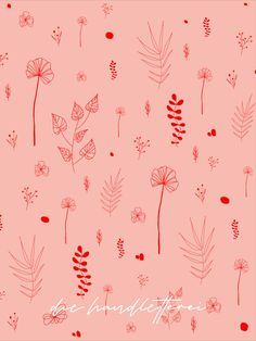 Seamless Pattern - Fine Art with botanical and floral  ornaments. Available on any kind of product @redbubble - Shop by Die Handletterei. Looking forward seeing you there.