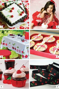 cherry party theme!