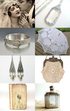 Gatsby and Art Deco Style --Pinned with TreasuryPin.com Curated by Marilyn handcraftusa  etsy