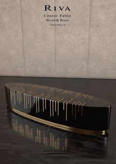 Riva Center Table - Studio Pont des Arts - Designer MONZER Hammoud - Paris