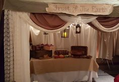 """While unloading my car , preparing for """"A Night in Bethlehem"""" ward activity. I was asked to prepare one of the """"tents/booths"""" for."""