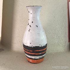 Gorka Lívia jelzett váza - signed ceramic vase Ceramic Vase, Ceramic Pottery, Ceramics, Artwork, Design, Home Decor, Pottery Vase, Ceramica, Pottery