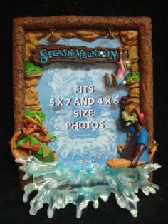 Disney's Splash Mountain 5x7 and 4x6 Frame Disney