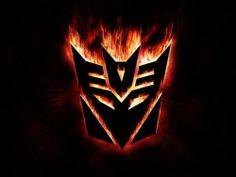 Custom HD HQ Transformers Movie Epic Flamed DECEPTICON Crest Magnet Free S/H USA