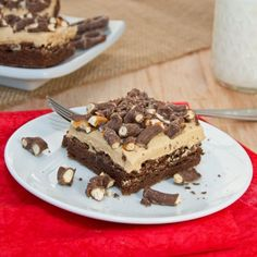 Chocolate Covered Pretzel Peanut Butter Brownies {Sweet Pea's Kitchen}