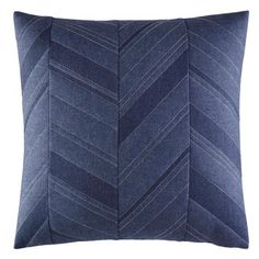 Nautica Cunningham Accent Pillow (55 CAD) ❤ liked on Polyvore featuring home, home decor, throw pillows, blue, blue accent pillows, blue home decor, chevron throw pillows, blue throw pillows and blue chevron throw pillows