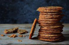 Kublanka vaří doma - Krajkové sušenky Amazing Cakes, Crackers, Sweet Recipes, Bakery, Food And Drink, Cookies, Meat, Advent, Christmas
