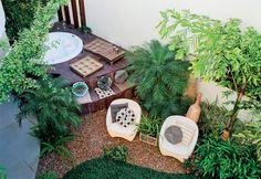 iluminação externa para jardim - Pesquisa Google